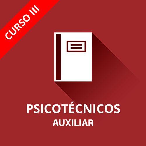 Icono curso psicotécnicos auxiliar administrativo curso III