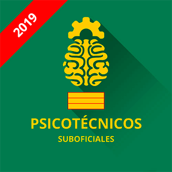 Guardia Civil Suboficiales Psicotécnicos convocatoria 2019