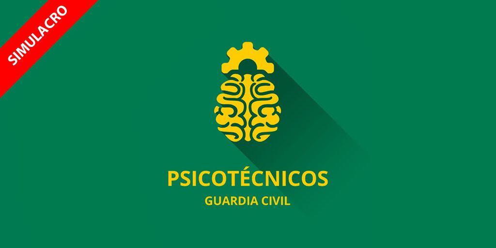 icono simulacro psicotécnicos guardia civil 2017 cabos y guardias