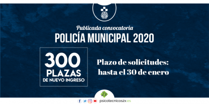 Convocatoria Policía Municipal 2020 Twitter
