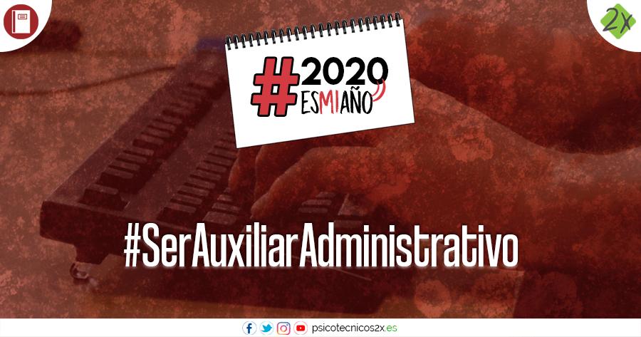 Auxiliar Administrativo 2020esmiaño