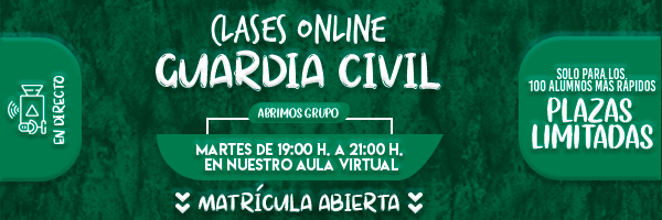 Banner Clases Online Guardia Civil 600x200