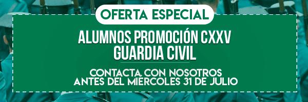 Banner Corto recnovación alumnos Guardia Civil