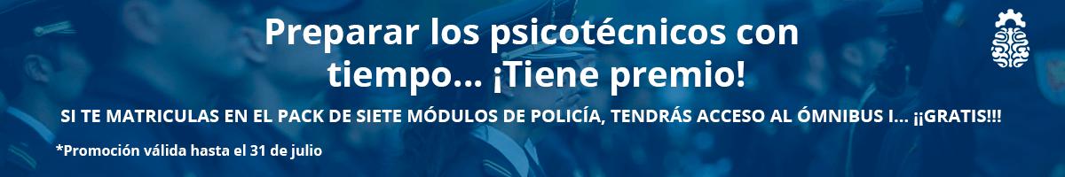 Promoción banner psicotécnicos Policía Nacional