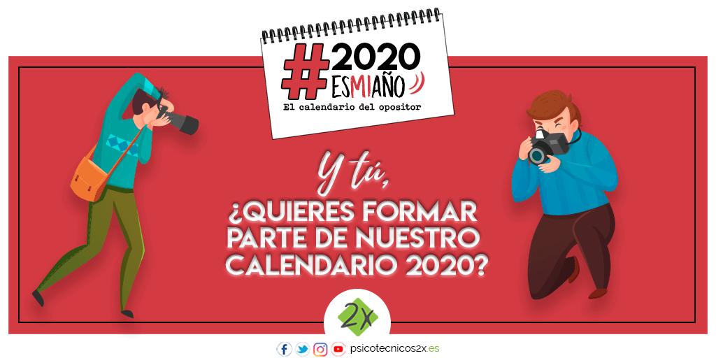 Calendario 2020esmiaño Twitter