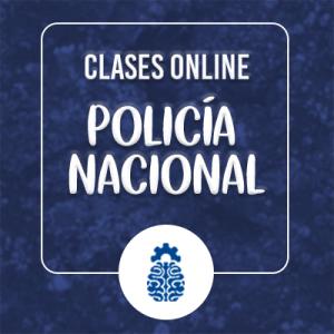 Clases online Policía Nacional