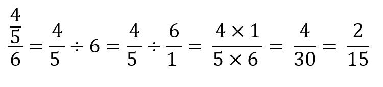 Cómo resolver una fracción compuesta