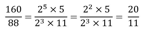 Como simplificar fracciones