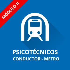 Psicotécnicos Conductor Metro de Madrid Módulo II