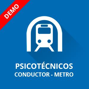 Psicotécnicos conductor Metro demo