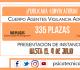 Cuerpo Agentes Vigilancia Aduanera 2019: 335 plazas