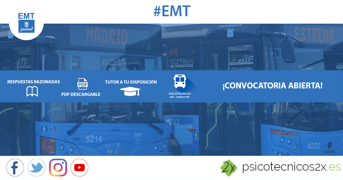 Convocatoria EMT Conductores 2017