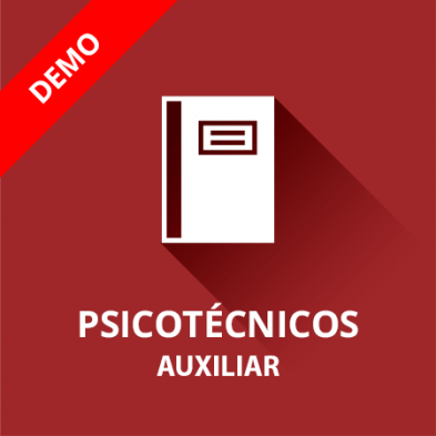 Demo psicotécnicos Auxiliar Administrativo