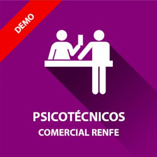 Curso demostración psicotécnicos Operador Comercial Renfe