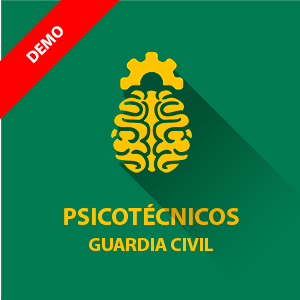 Demo gratis psicotécnicos Guardia Civil - Cabos y Guardias (Guardia)