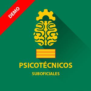 Demo gratis psicotécnicos Guardia Civil - Suboficiales (Sargento)
