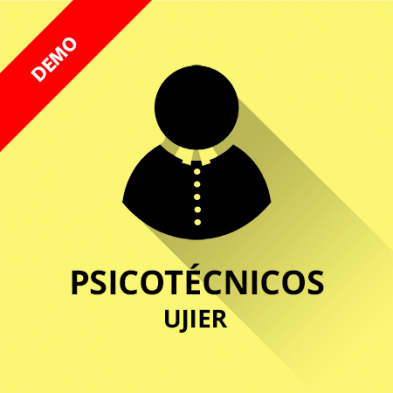 Demo psicotécnicos Ujier gratis