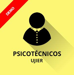 Demo Ujier test psicotécnico gratis