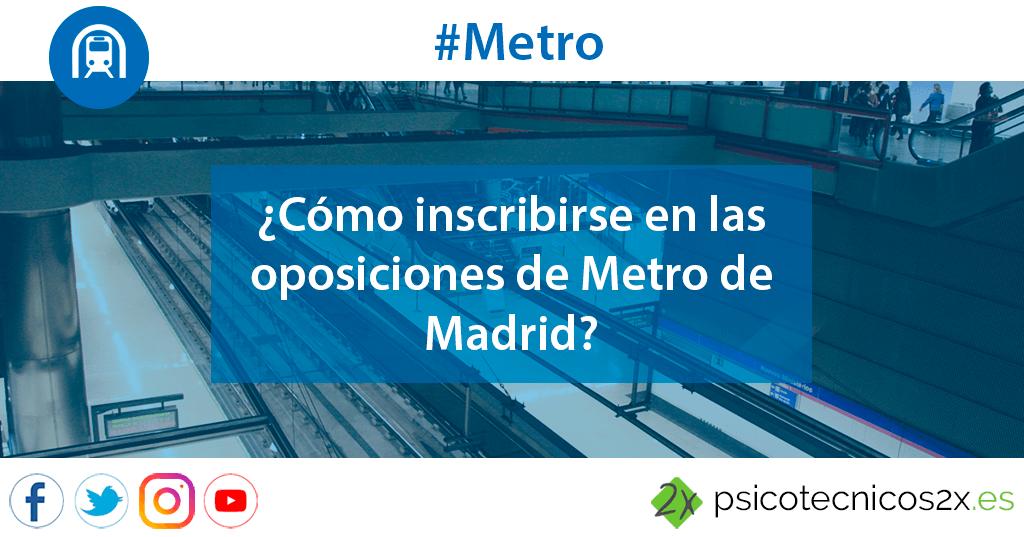 Empleo Metro Madrid Oposiciones Twitter