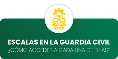 Escalas en la Guardia Civil