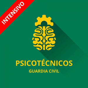 Psicotécnicos Guardia Civil módulo intensivo