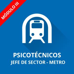 Jefe Sector (Jefe de Vestíbulo) Metro de Madrid - Psicotécnicos