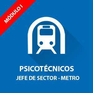 Jefe de Sector Psicotécnicos Metro Madrid
