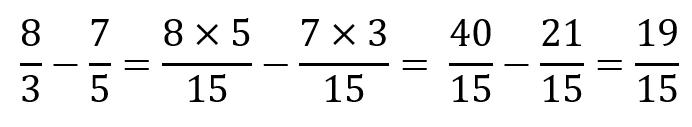 MCM números primos - Fracciones
