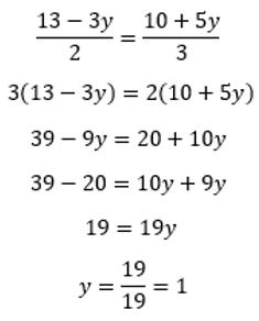 Método igualación - Sistemas de ecuaciones