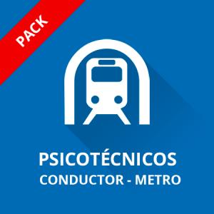 Psicotécnicos Conductor Metro de Madrid Pack Módulo I+II