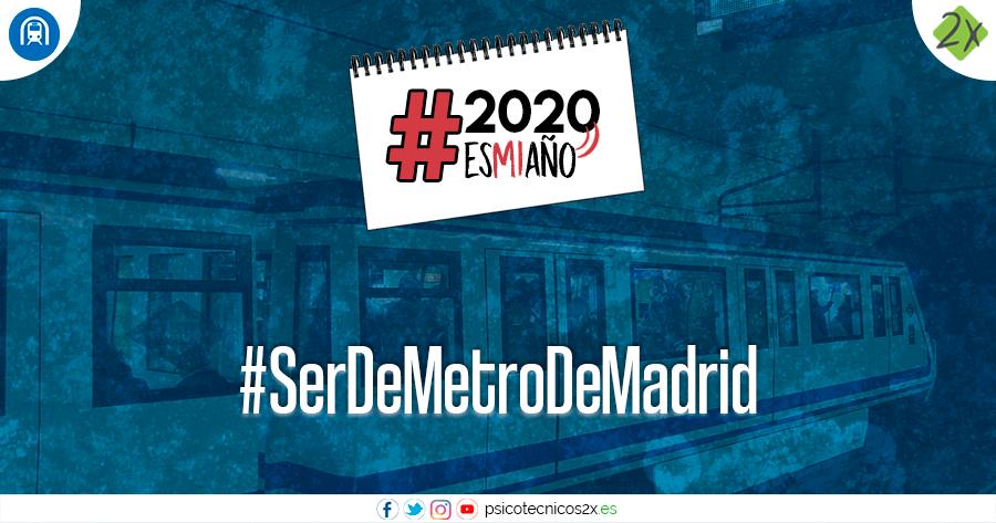Metro Madrid 2020esmiaño