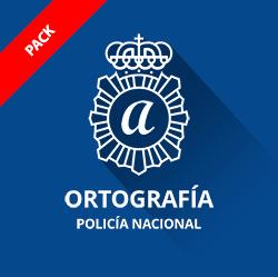 Ortografía oposición Policía Nacional Pack