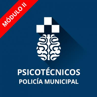 Policía Municipal prueba psicotécnica