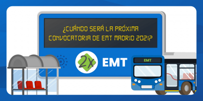 Próxima Convocatoria de Conductor EMT Madrid 2021