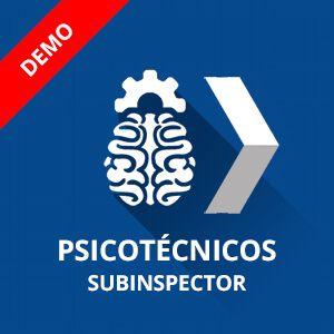 Psicotécnicos Policía Nacional Subinspector curso demostración