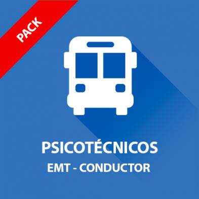 Psicotécnicos Conductor EMT - Pack