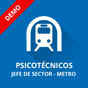 Demo psicotécnicos Jefe de Sector Metro de Madrid