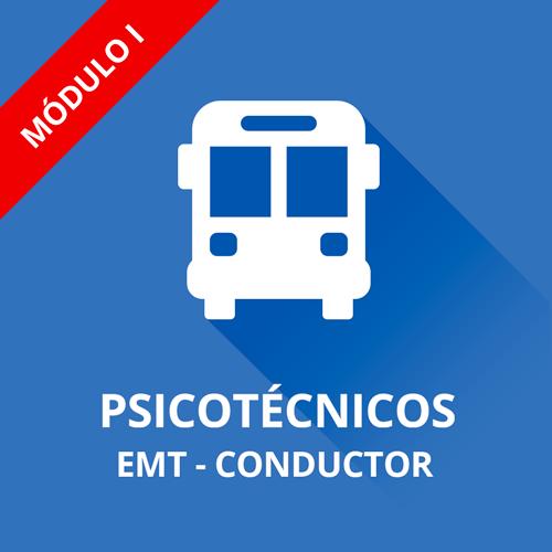 Psicotécnicos EMT Madrid convocatoria conductor autobús