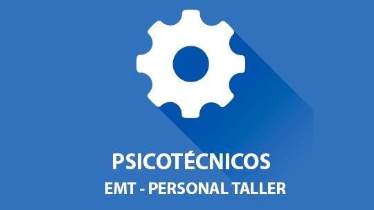 Psicotécnicos EMT oposición Personal de Taller