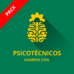 Pack Psicotécnicos Guardia Civil - Cabos y Guardias (Guardia)