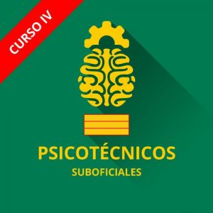 Icono curso psicotécnicos guardia civil ascenso suboficiales sargento curso IV