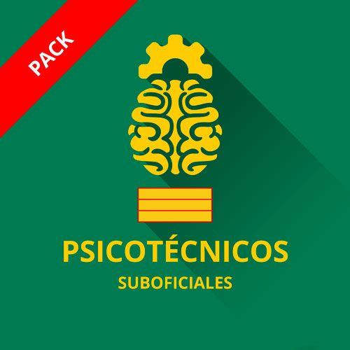 Icono curso psicotécnicos guardia civil ascenso suboficiales sargento pack cursos I, II, III.