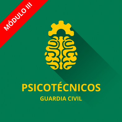 icono curso psicotécnicos guardia civil 2017 cabos y guardias III