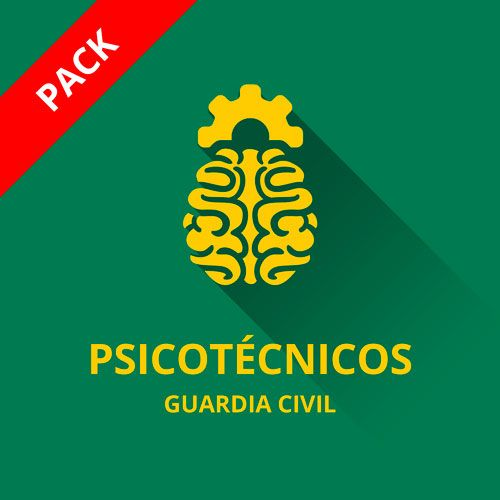 icono curso psicotécnicos guardia civil 2017 cabos y guardias