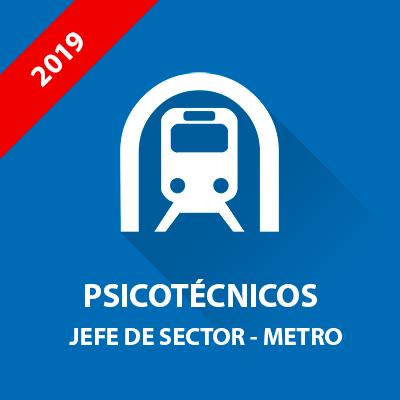 Psicotécnicos oposición Metro Madrid - Jefe de Sector