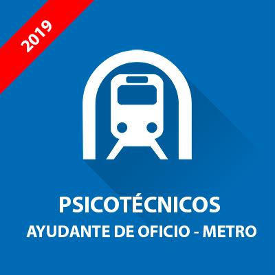 Psicotécnicos oposición Ayudante de Oficio - Metro Madrid