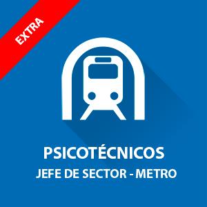 Psicotécnicos Metro de Madrid Jefe de Sector