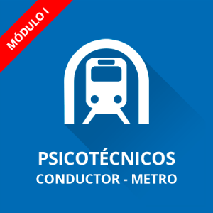 Psicotécnicos conductor Metro módulo I