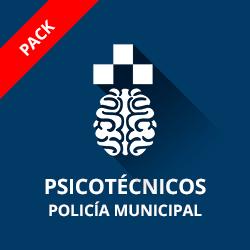 Pack Psicotécnicos para la oposición a Policía Municipal de Madrid