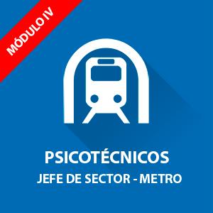 Psicotécnicos para oposición Jefe de Sector Metro Madrid